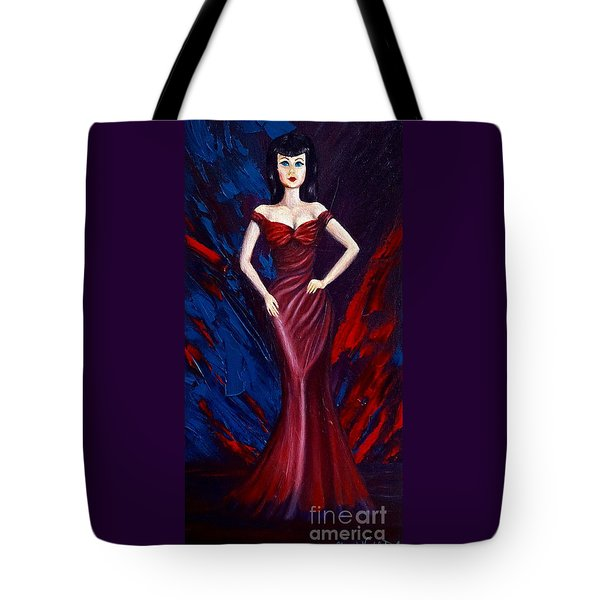 She's A Bit Of A Vamp Tote Bag