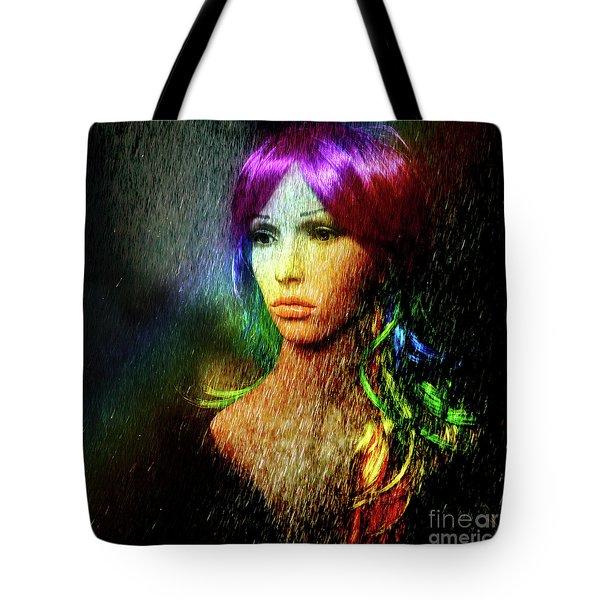 She's Like A Rainbow Tote Bag