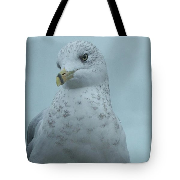 She's Over There Tote Bag