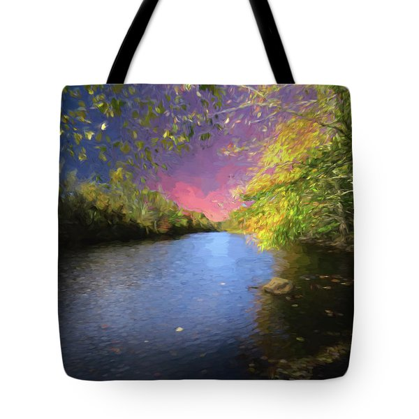 Shetucket River Ct. Tote Bag