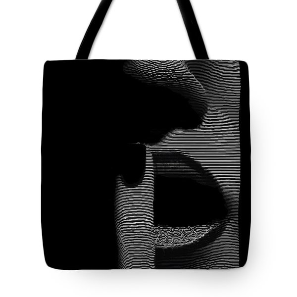 Shhh Tote Bag by ISAW Gallery