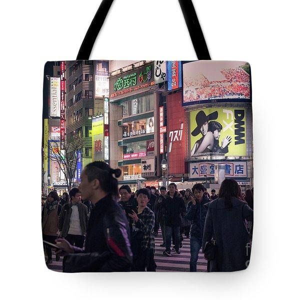 Shibuya Crossing, Tokyo Japan 3 Tote Bag
