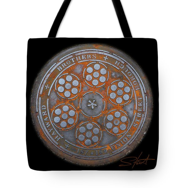 Shield 2 Tote Bag