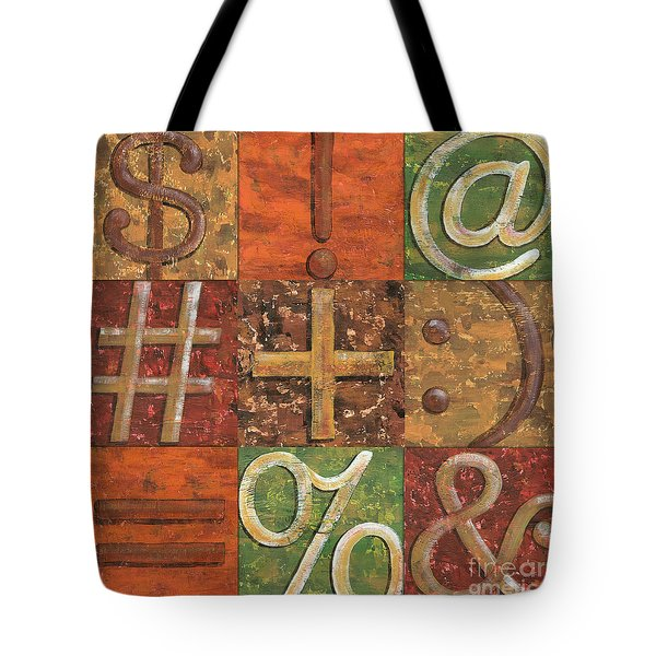 Shift Keys Tote Bag