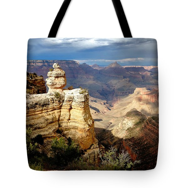 Shifting Shadows Tote Bag