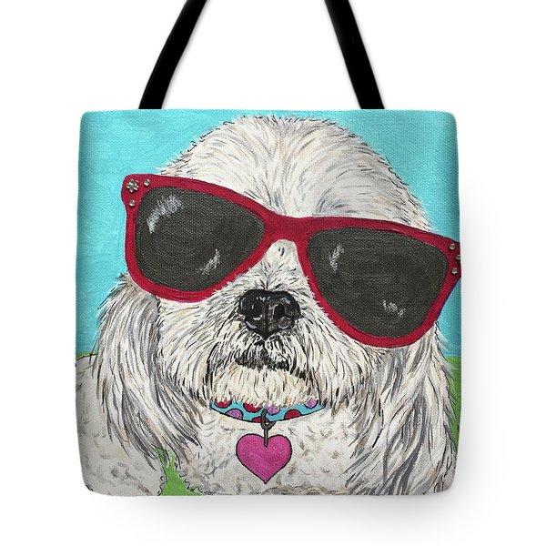 Shih Tzu Diva Tote Bag