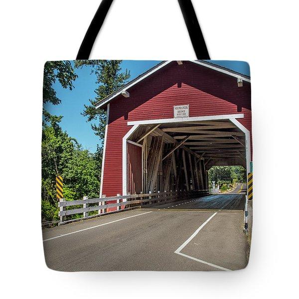 Shimanek Covered Bridge Tote Bag