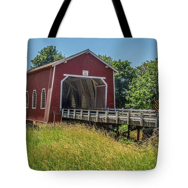 Shimanek Covered Bridge No. 2 Tote Bag