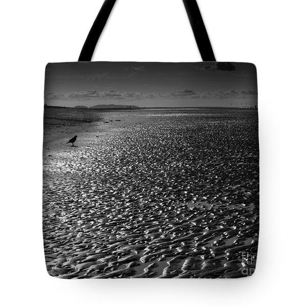 Shimmer Sand Tote Bag