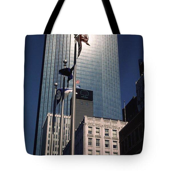 Shimmering Ids Tote Bag