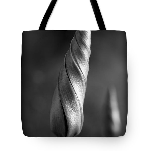 Shimmering Moonflower Bud Tote Bag