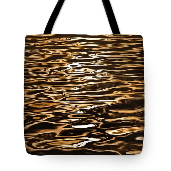 Tote Bag featuring the photograph Shimmering Reflections by Az Jackson