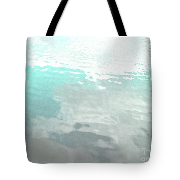 Let The Water Wash Over You. Tote Bag