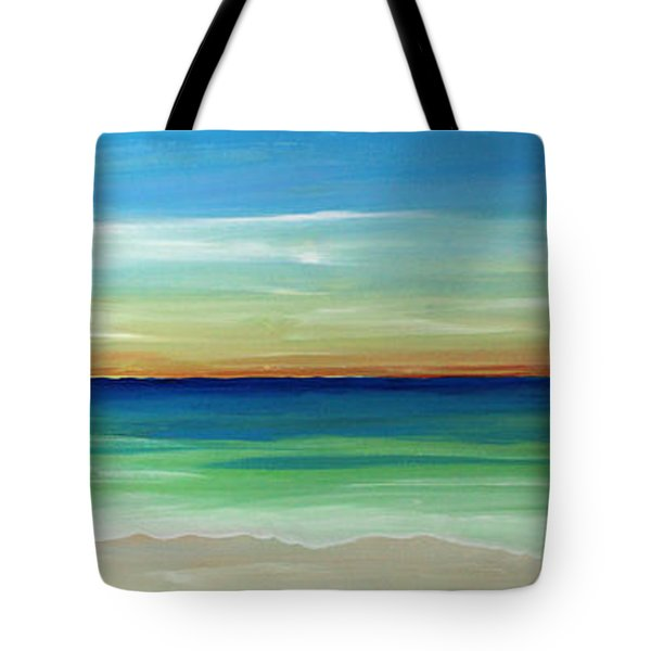 Shimmering Sunset Tote Bag