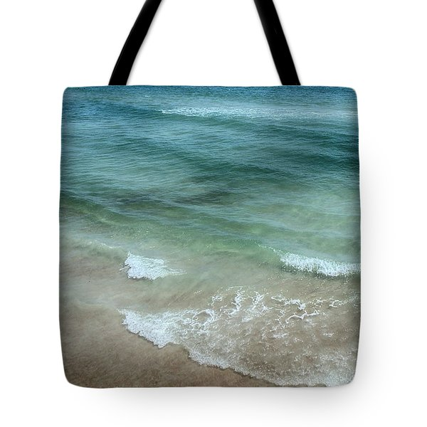 Shimmering Tide Tote Bag by Judy Hall-Folde