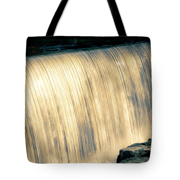Shimmering Waterfall Tote Bag
