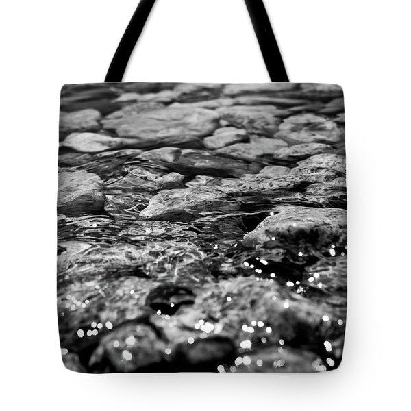 Shimmering Waters In Spring Tote Bag