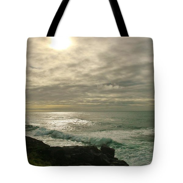 Shimmery  Light Tote Bag by Sheila Ping