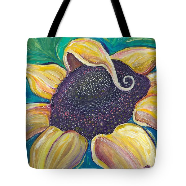 Tote Bag featuring the painting Shine Bright by Tanielle Childers