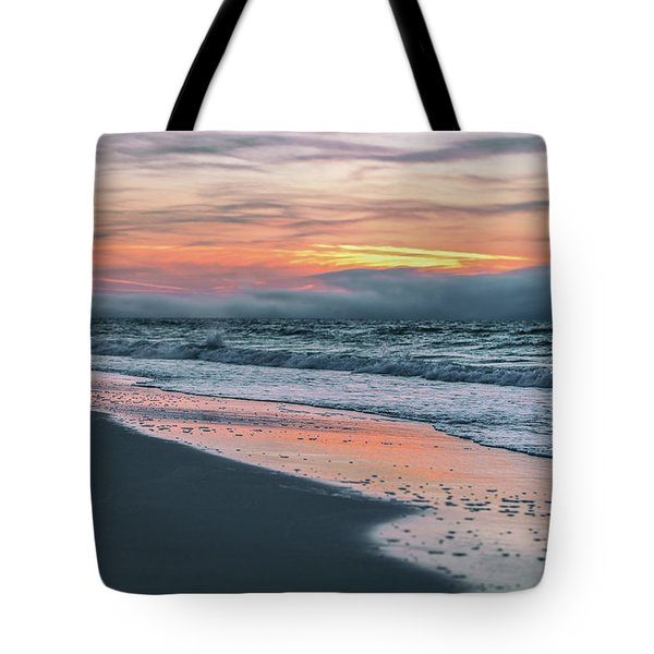 Tote Bag featuring the photograph Shine On Me Beach Sunrise  by John McGraw