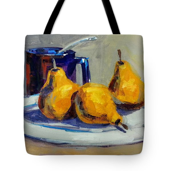 Shiney Blue Mug Tote Bag
