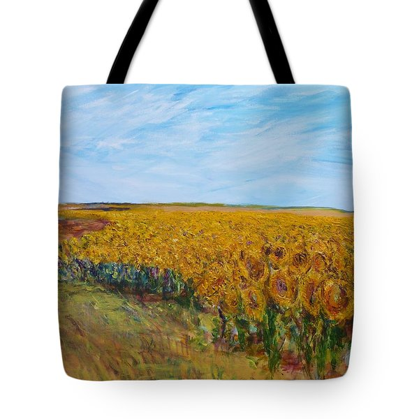 Sunny Faces Tote Bag