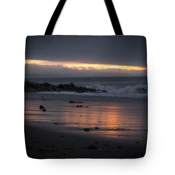 Shining Sand Tote Bag