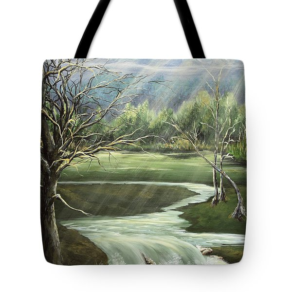 Shining Sisters Tote Bag by Janice Smith