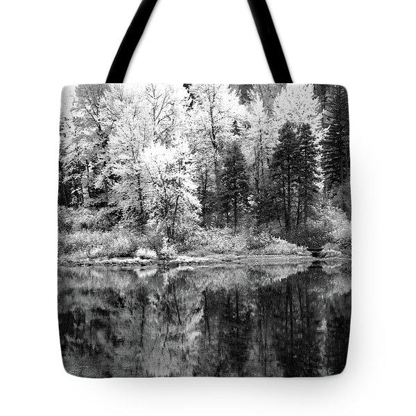 Shining Trees Tote Bag