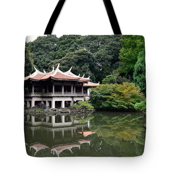 Shinjuku-gyoen Tea House Tote Bag