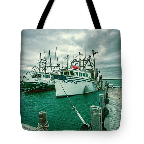 Shinnecock Fishing Vessels Tote Bag