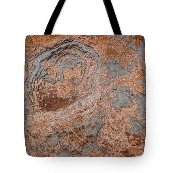 Tote Bag featuring the photograph Shinumo Abstract by Britt Runyon