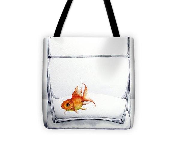 Shiny Tote Bag by Christina Meeusen