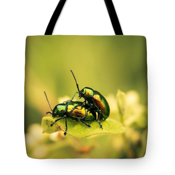 Shiny Pair Tote Bag by Shane Holsclaw