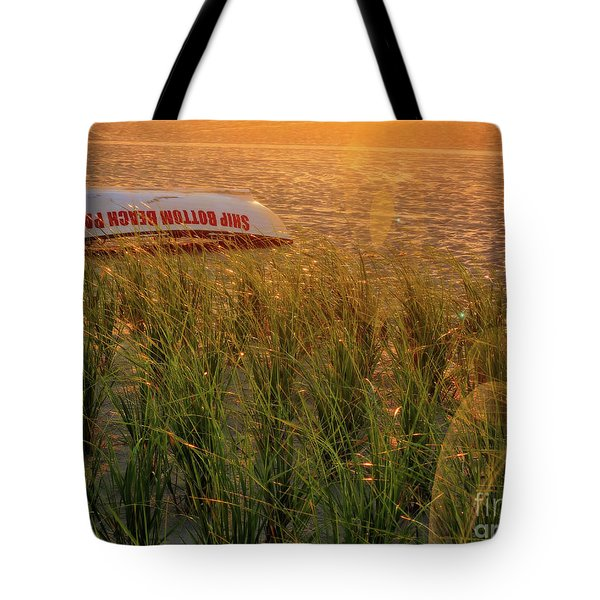 Ship Bottom Beach Patrol Tote Bag
