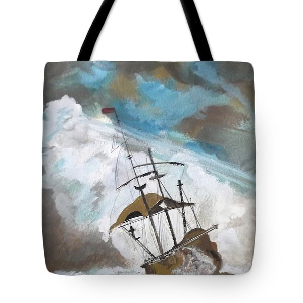 Ship In Need Tote Bag