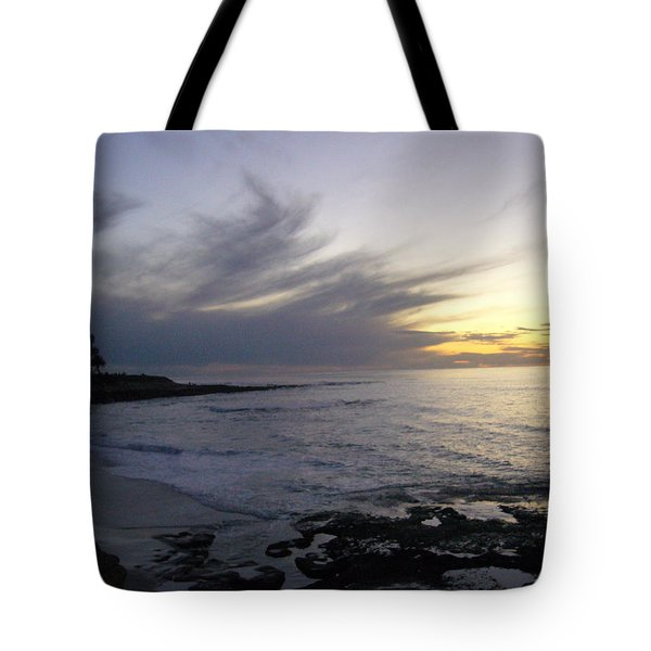 Ship In The Clouds Tote Bag