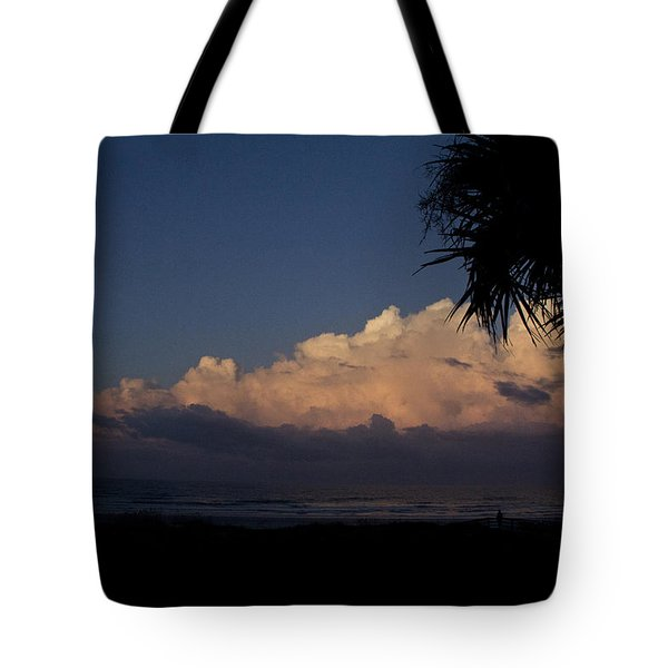 Ship In The Sky Tote Bag