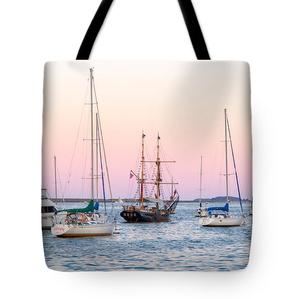 Ship Out Of Time Tote Bag