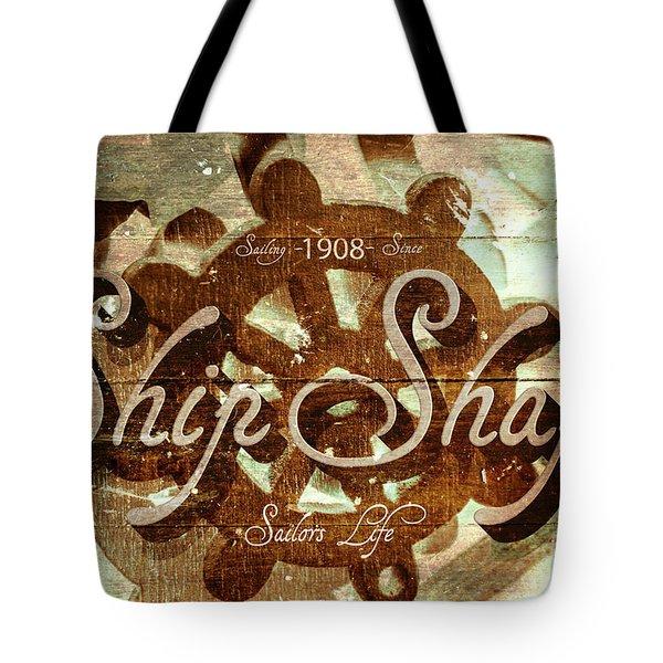Ship Shape 1908 Tote Bag