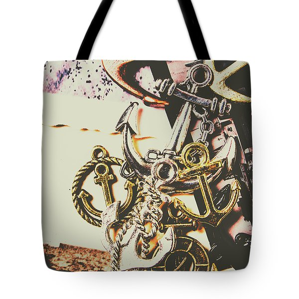Ship Shape Maritime Icons Tote Bag