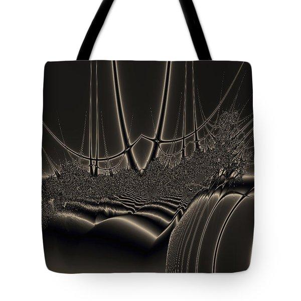 Ship Wreck Abstract Tote Bag