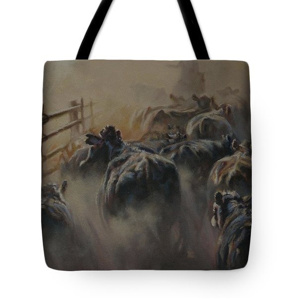 Shipping Dust Tote Bag by Mia DeLode