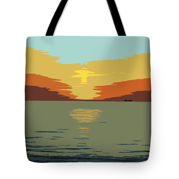 Shipping Off Tote Bag