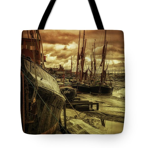 Ships From Essex Maldon Estuary Tote Bag