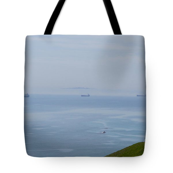 Ships Of Durdle Dor Tote Bag