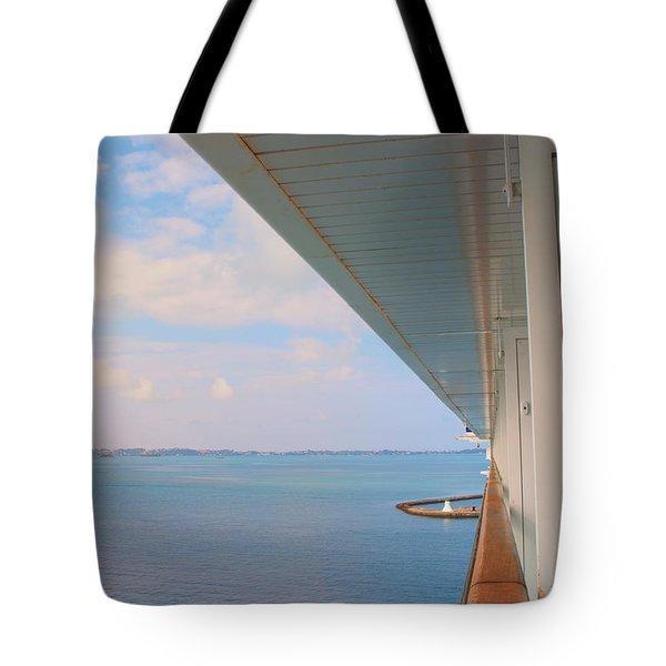Ships Rail Tote Bag