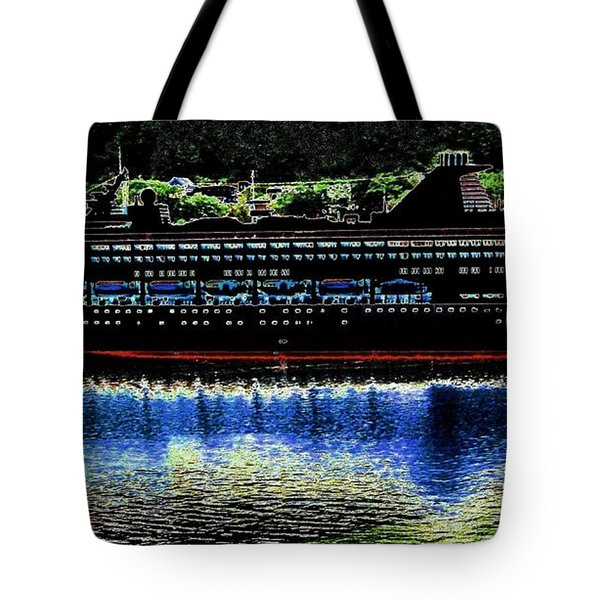 Shipshape 8 Tote Bag by Will Borden