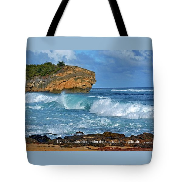 Shipwreck Beach Shorebreaks 2 Tote Bag