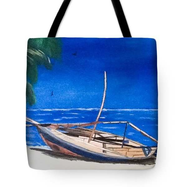 Shipwreck Tote Bag by Catherine Swerediuk